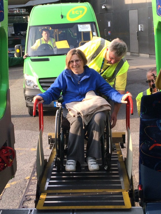 Community transport charity set to transport 10,000th spectator for Rugby World Cup image