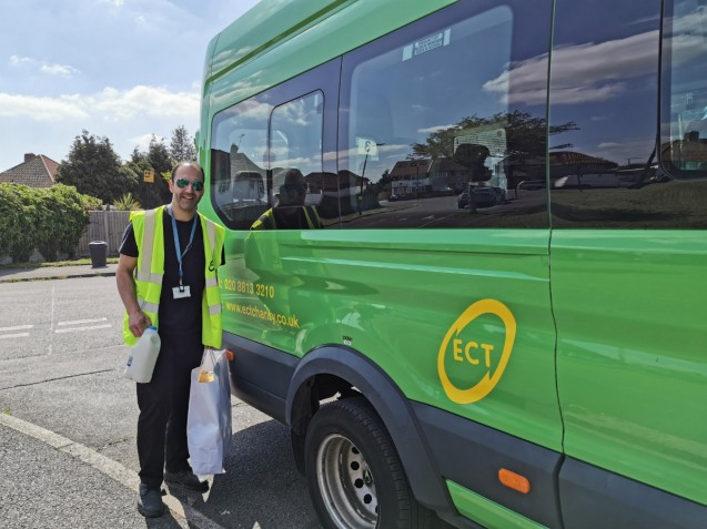 """You are saving lives"" – council leaders praise 'phenomenal' effort as ECT food deliveries have now passed 7000 image"