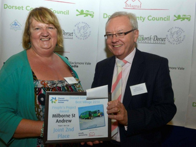 Dorset Best Village competition recognises Bus2Go as a leading community project image