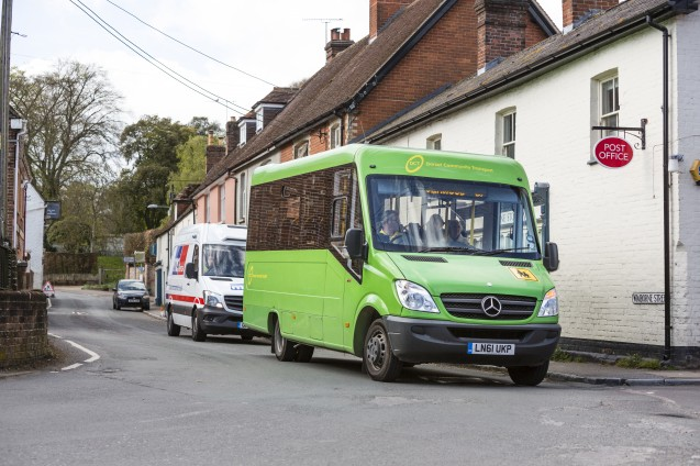 Dorset community bus service reduces rural isolation in face of council cuts image