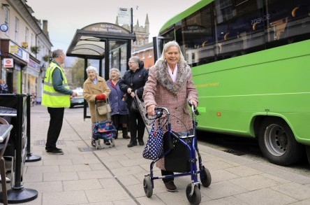 Dorset Community Transport saves the day for last-minute Christmas shoppers! image