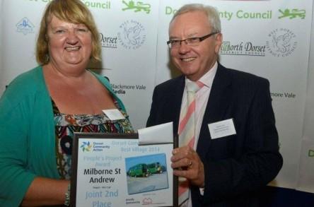 Dorset Best Village competition recognises Bus2Go as a leading community project image