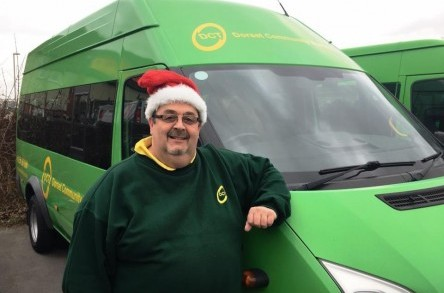 Journey Makers: Dorset Community Transport drivers give back this Christmas image