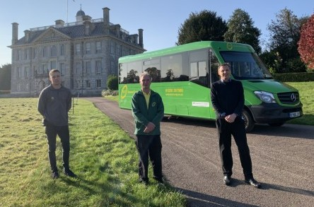 All aboard for Kingston Lacy! Dorset's 'Little Green Bus' extends route to stunning National Trust house and parkland image