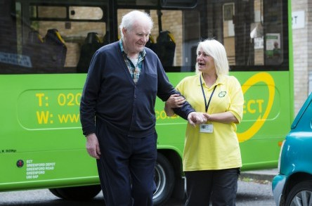 Dementia patients back on track with Big Green Bus image