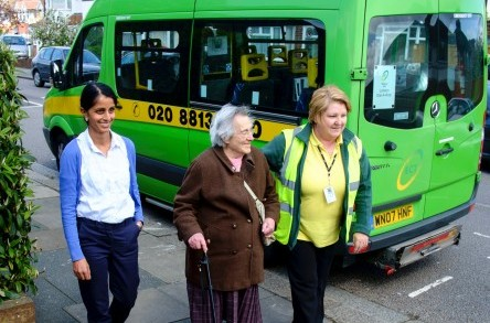 ECT Charity pilots a pioneering health transport service image