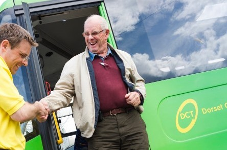 'Little green bus' provides lifeline for rural communities following £500k transport cuts image