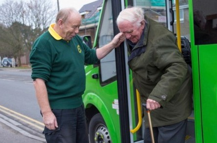DCT 'puts best foot forward' thanks to £25 million minibus fund image