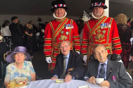 A royal outing for St David's Care Home passengers image