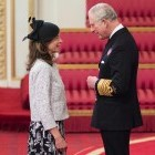 ECT Charity's Chief Executive collects MBE at Buckingham Palace image