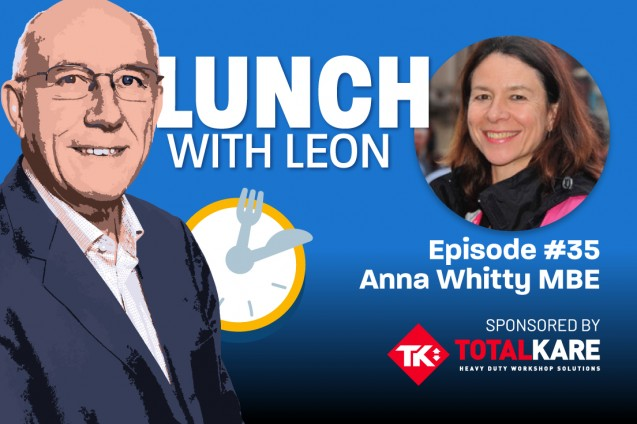 Transport big hitter Leon Daniels interviews ECT's Anna Whitty for popular podcast image
