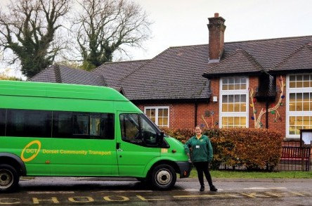 DCT keeps the wheels moving for key worker schoolchildren and isolated Dorset residents image