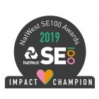 ECT Charity is named NatWest SE100 Impact Champion 2019 image